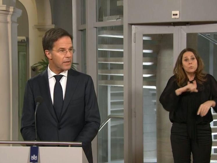Rutte: We staan op kruispunt, te vroeg voor lockdown