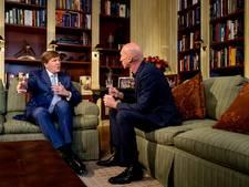 Interviews van koning door de jaren heen steeds losser