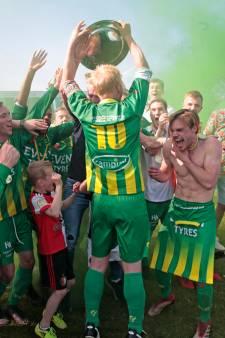 FC Binnenmaas met overmacht kampioen in derde klasse
