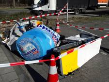 Pompbediende Alex van de Hoezaar (A58) schrok van plotselinge 'teringherrie'