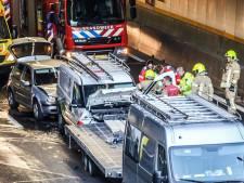 Heinenoordtunnel dicht door ongeluk