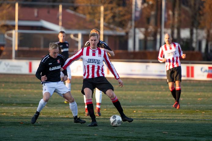 Rigtersbleek won in een pittige wedstrijd met 2-1 van Tubantia.