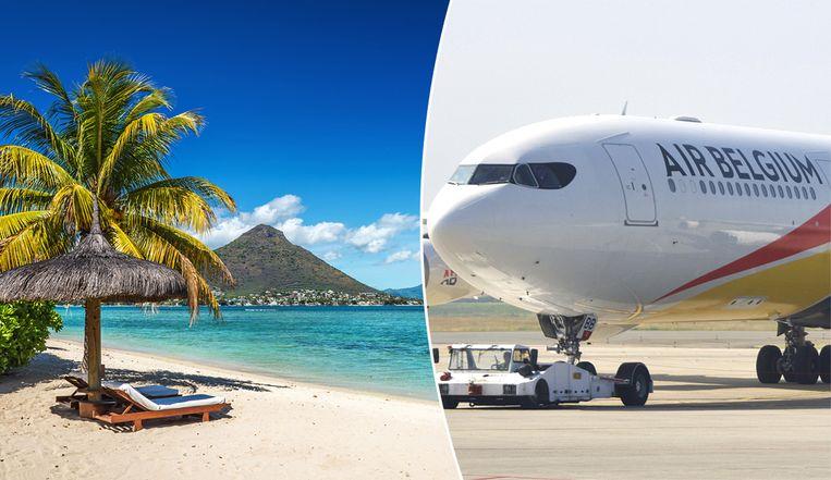 Air Belgium vliegt vanaf december ook naar Mauritius.