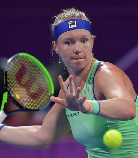Bertens treft in Chinese Zheng bekende op WTA-toernooi in Doha
