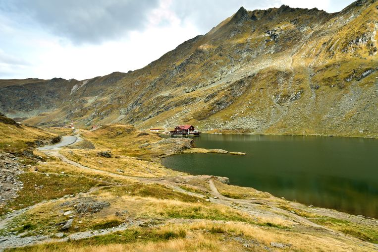 De Fagaras-bergen in Roemenië.