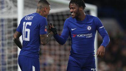 Batshuayi scoort voor Chelsea, dat strafschoppen (en Hazard) nodig heeft om tweedeklasser uit FA Cup te knikkeren