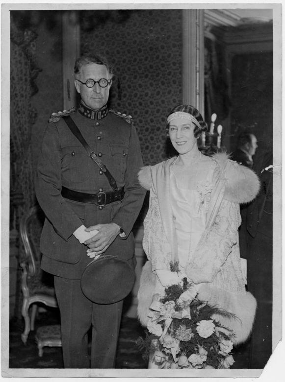 Koning Albert en koningin Elisabeth in 1930.
