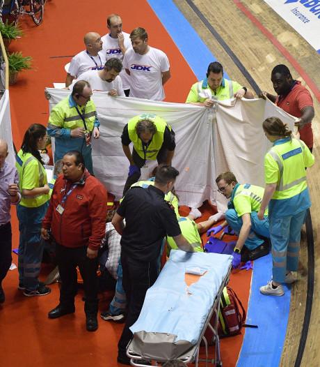 Thijssen op intensive care na zware val bij Zesdaagse van Gent
