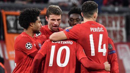 Bayern wint overbodige wedstrijd van Tottenham