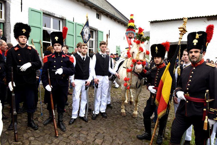 Naast de Pauwel en zijn bendeleden waren er ook enkele soldaten uit Ieper aanwezig.