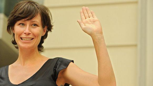 Vlaams minister van Wonen Freya Van den Bossche (sp.a)