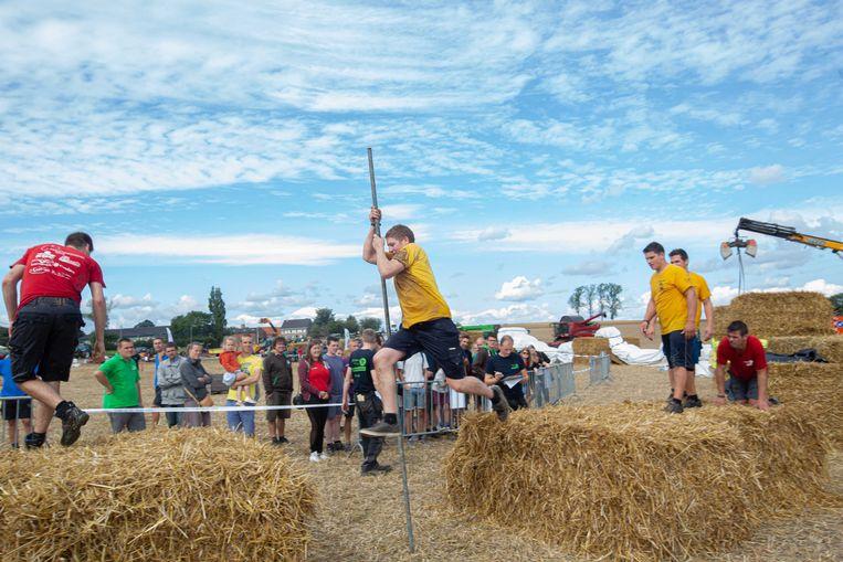 Het Zomerfestival met de nationale finale van het spel zonder grenzen 'Held van 't Veld' was een groot succes
