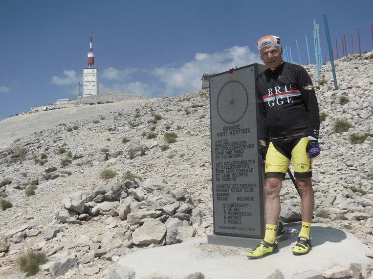Roland Hurtecant wordt ook Monsieur Mont Ventoux genoemd en heeft op de berg z'n eigen monument.