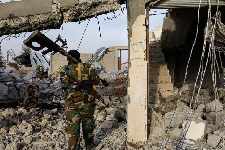 Beeld ter illustratie, Amerikaanse troepen mogen niet in Irak blijven.