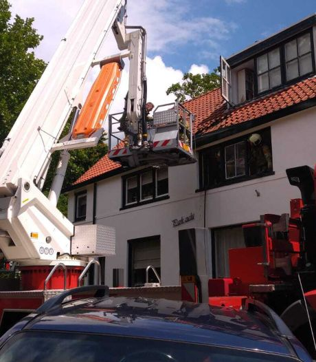 Brandweer heeft brand in woning Rhenen snel onder controle