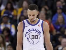 Curry weer weken aan de kant met blessure