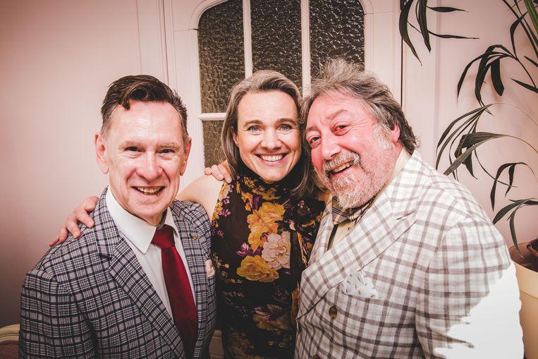 Koen Crucke, Ann De Prest  en Luk De Bruycker spelen samen 'Revue'
