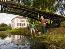 Droogte nekt kasteelheren in Oost-Nederland: 'Ik kan moeilijk mijn 10 hectare water geven'