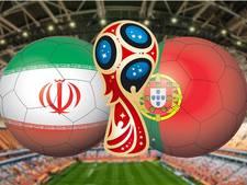 Iran bij stunt tegen Portugal naar volgende ronde