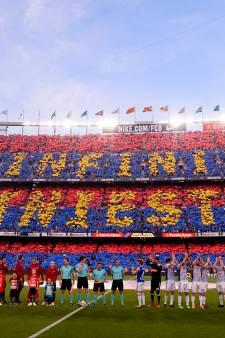 Zo nam Camp Nou afscheid van Andrés Iniesta