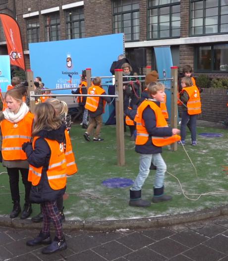 Aftrap voor Koningsspelen op Voorburgse basisschool