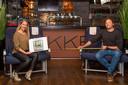 Eigenaar Michiel Boon van restaurant Lekkerrr uit Schoonhoven en interieurontwerper Marloes Boele van Mdesigns uit Schoonhoven hebben 'Cocoon Dining' bedacht waarbij klanten straks in buitenlandse sferen maar geheel afgeschermd in een soort cabine kunnen dineren.