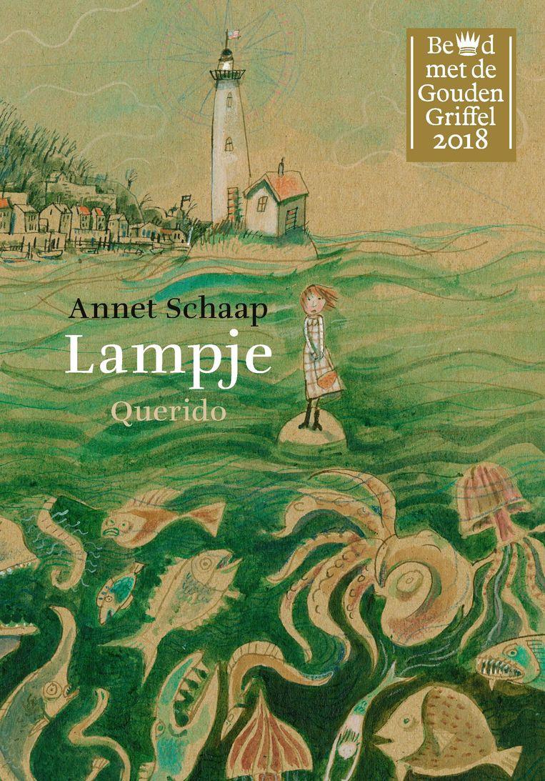 Het boek Lampje van Annet Schaap. Beeld Annet Schaap
