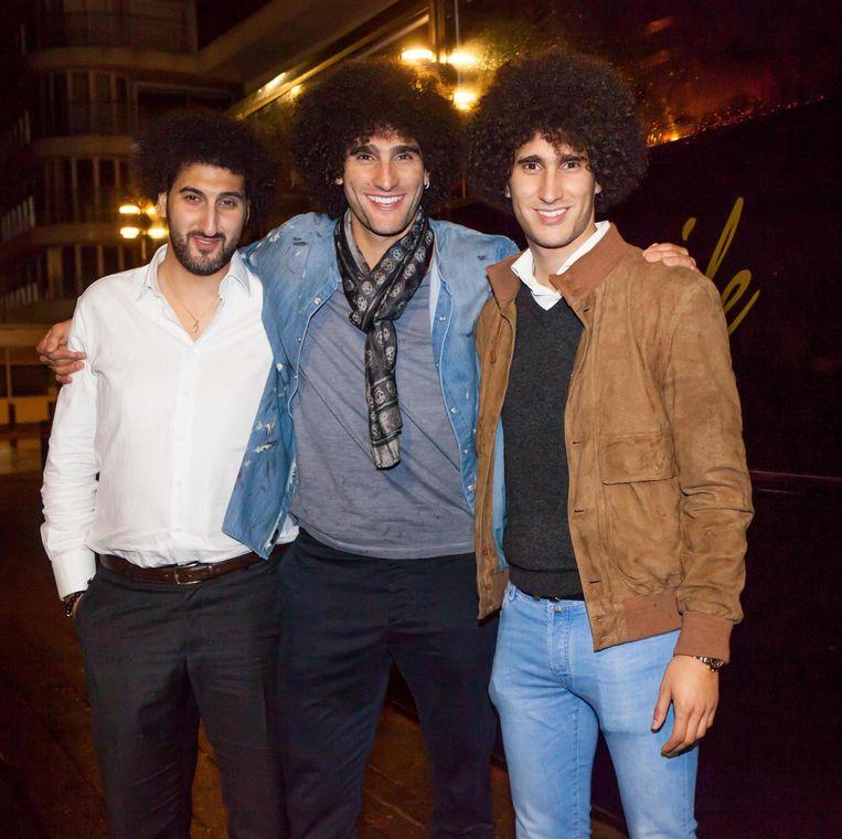 Picture of Marouane Fellaini Brothers, called Hamza & Mansour