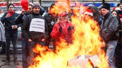 """Vakbonden tevreden na succesvolle staking: """"Nu tijd voor echt overleg"""""""