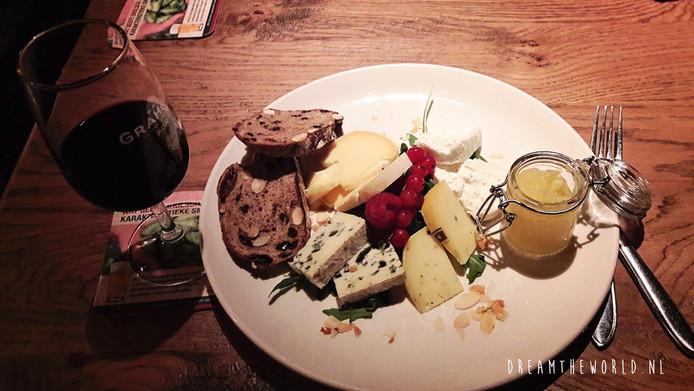 Eten bij De Waag.