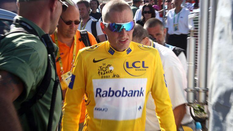 Michael Rasmussen. Beeld afp
