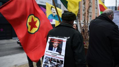 Koerden houden late betoging in hartje Brussel, 25 mensen opgepakt
