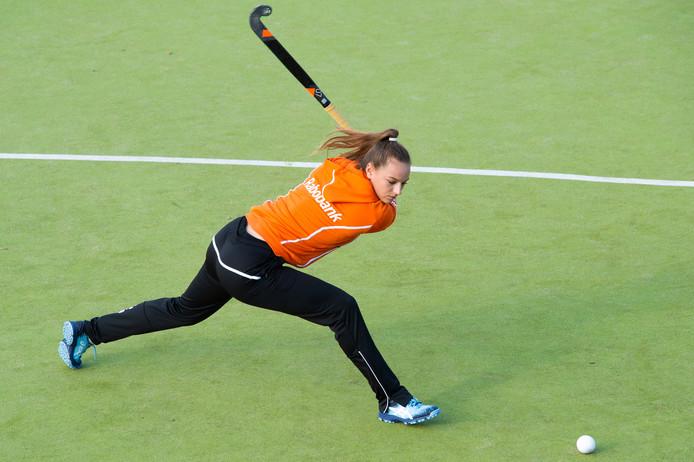Zara-Lee Wang scoorde tegen Roomburg. (archieffoto)