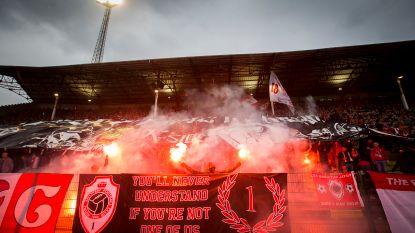 """FT België 19/03. """"Laat vuurwerk thuis in play-offs"""" - Sørloth langer bij Gent? -  Antwerp bouwt tijdelijke tribune voor play-off 1"""