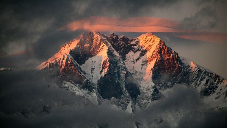 De echte Mount Everest.