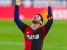 Messi imiteert Maradona met goal die hij Diego als vijfjarig mannetje zag maken