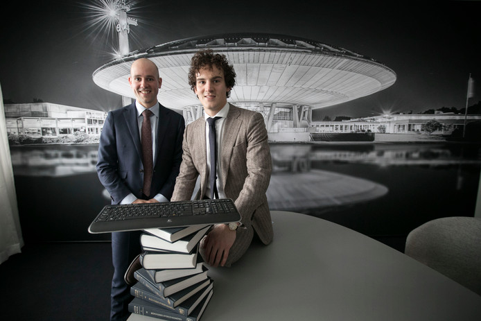 Willem-Jan Smits (links) en Job Floris: werken op snijvlak techniek en juridisch domein.