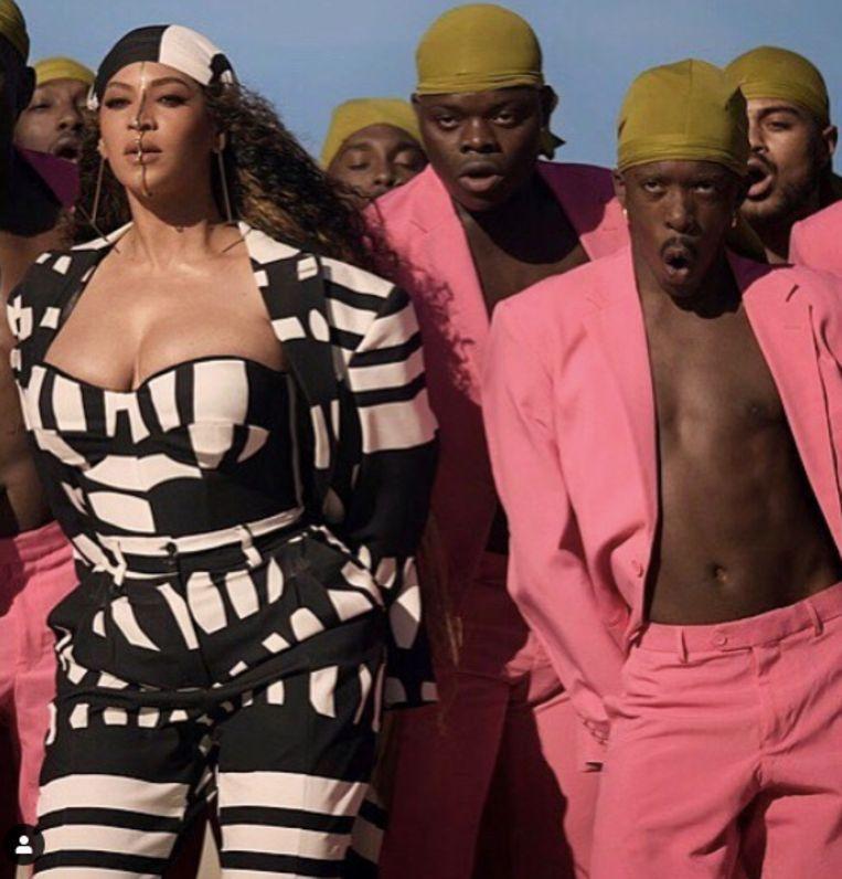 Nick Coutsier mocht aan de zijde van Beyonce dansen.