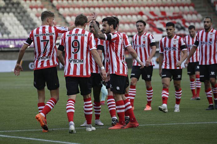 Sparta is de laatste twee wedstrijden in vorm, de vorige week werd ADO met 6-0 afgedroogd.