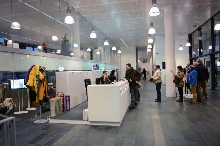 De stadsdiensten verhuisden twaalf jaar geleden van kantoren in centrum naar het Stadskantoor aan het station.