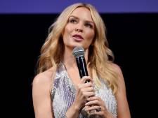 Kylie Minogue blaast concert af om keelontsteking