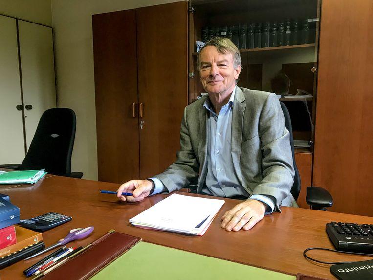 """Boudewijn Van Hove: """"Vrederechter is de mooiste job die er is binnen de magistratuur""""."""