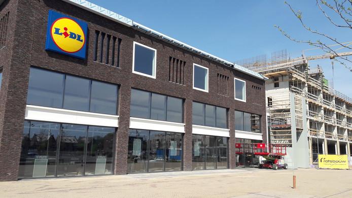 De Lidl van Veenendaal-Oost gaat open op 1 mei.