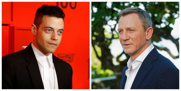 Rami Malek en Daniel Craig
