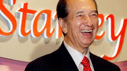 Miljardair Stanley Ho (98) overleden: de man die van Macao de grootste gokstad ter wereld maakte en maar liefst 17 kinderen verwekte