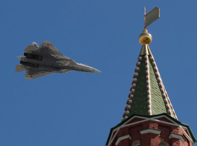 Een Su-57.
