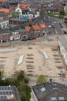 Parkeergarage Buitenhaven blijft voorlopig bouwput