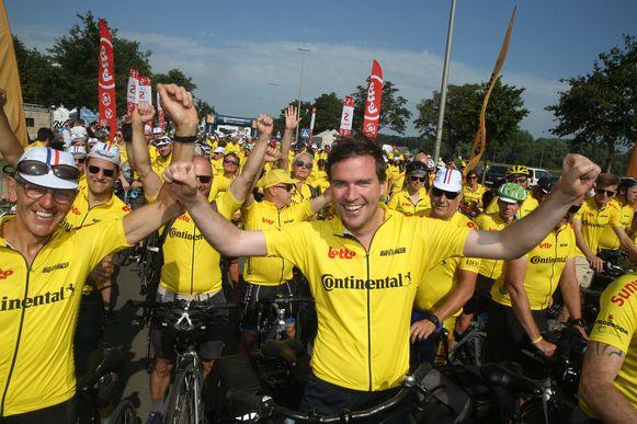 Ook burgemeester Mathias De Clercq was van de partij.