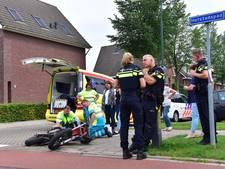 Bromfietser lichtgewond bij aanrijding in Houten