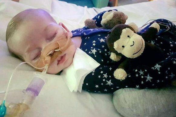 De zieke elf maanden oude baby Charlie Gard.